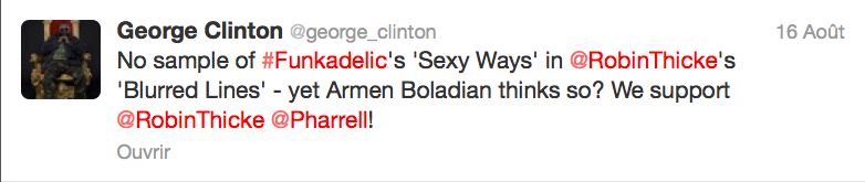 george clinton tweet