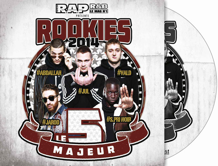 CD+ROND-ROOKIES 2014