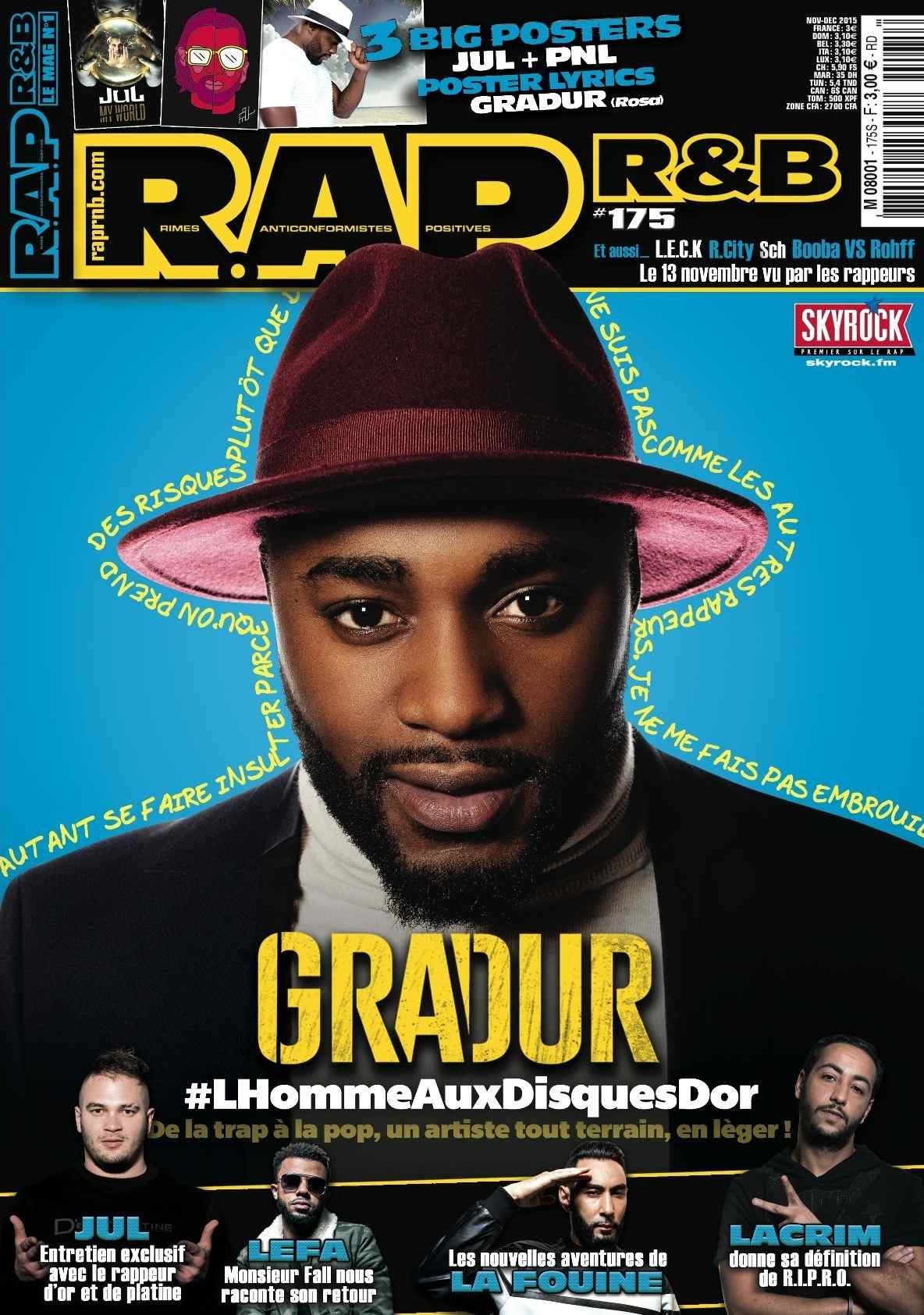 COUVERTURE R.A.P. R&B #175