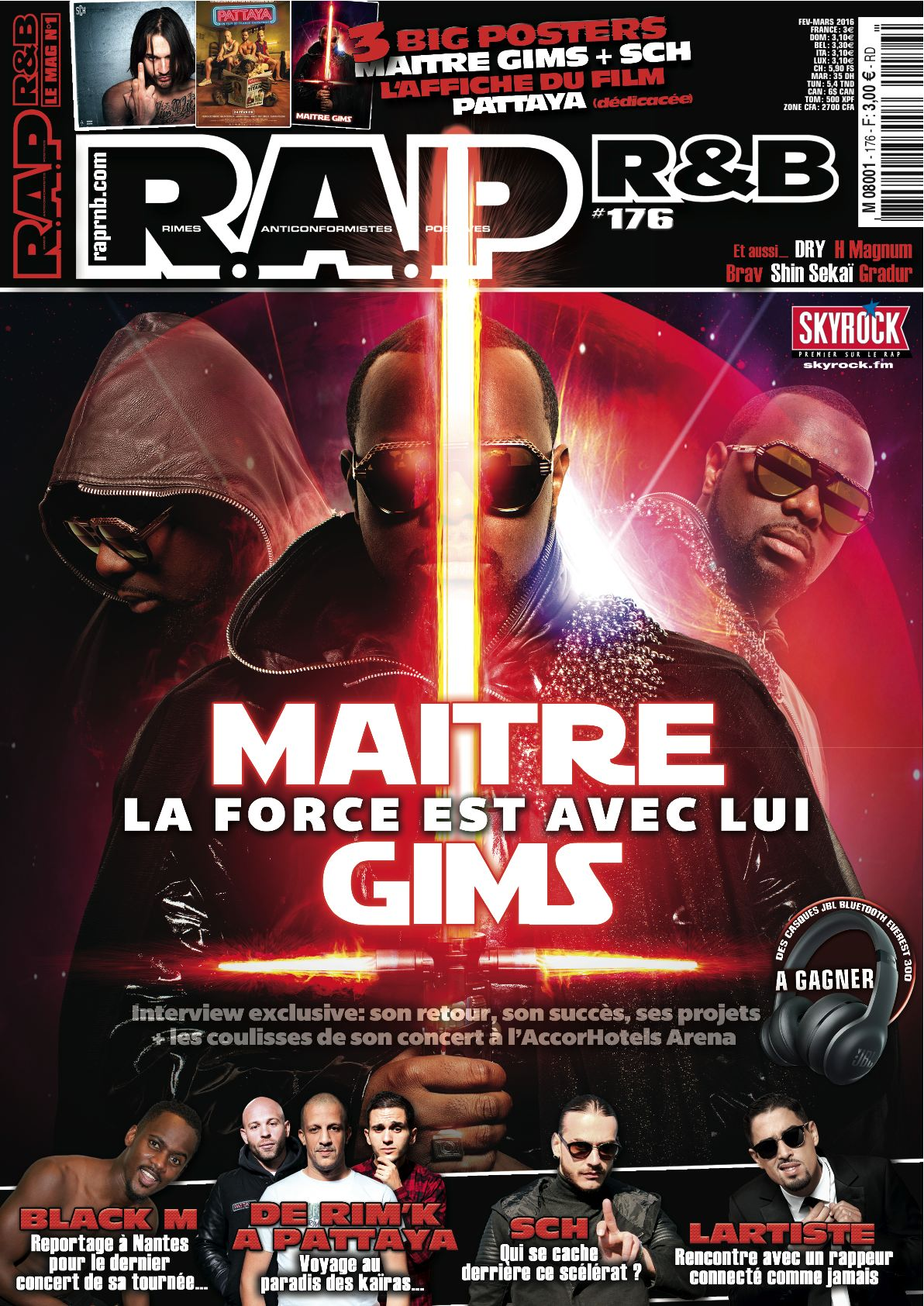COUVERTURE R.A.P. R&B #176