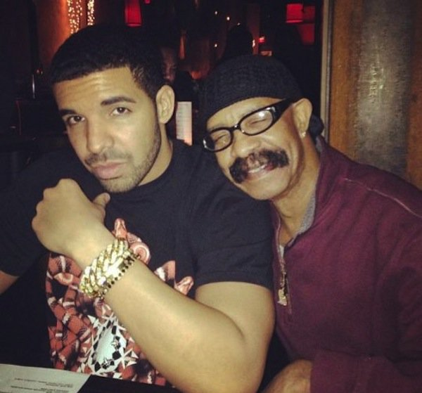 Drake-and-dad-Dennis-Graham