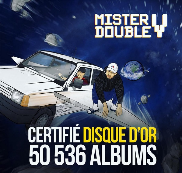 mister V_disque d'or