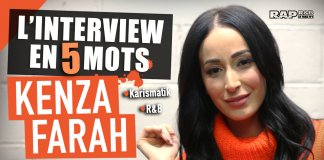 kenza farah interview