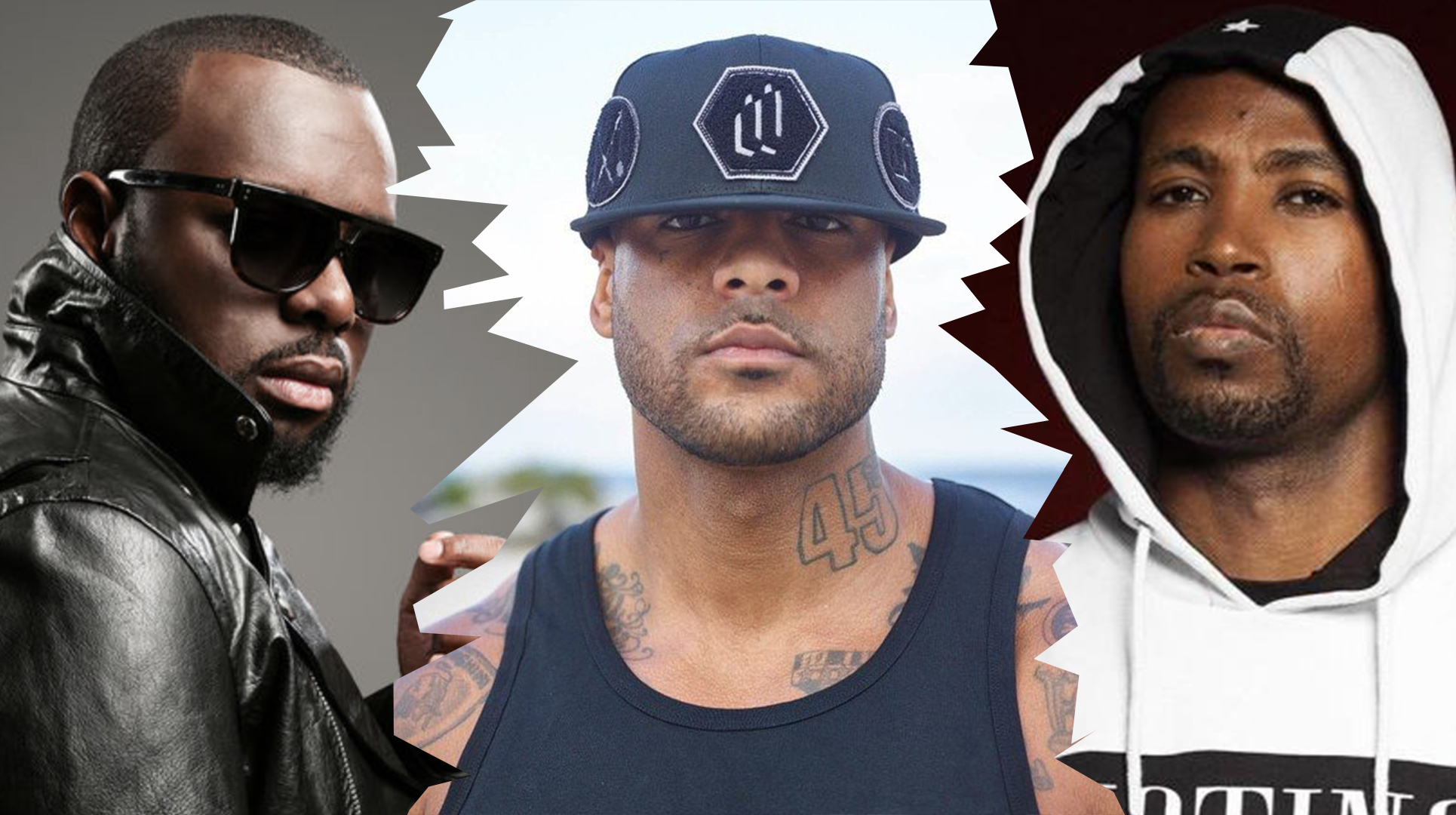 booba rohff Maître Gims