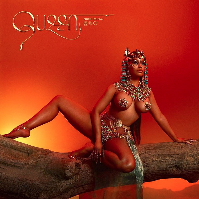 nicki minaj cover queen