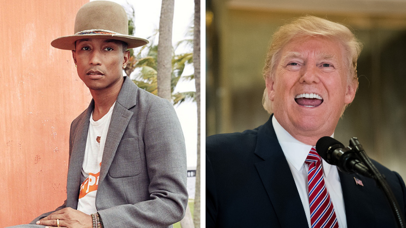 Pharrell Williams x Trump