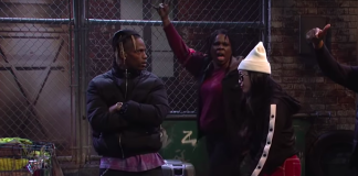 Travis Scott au SNL