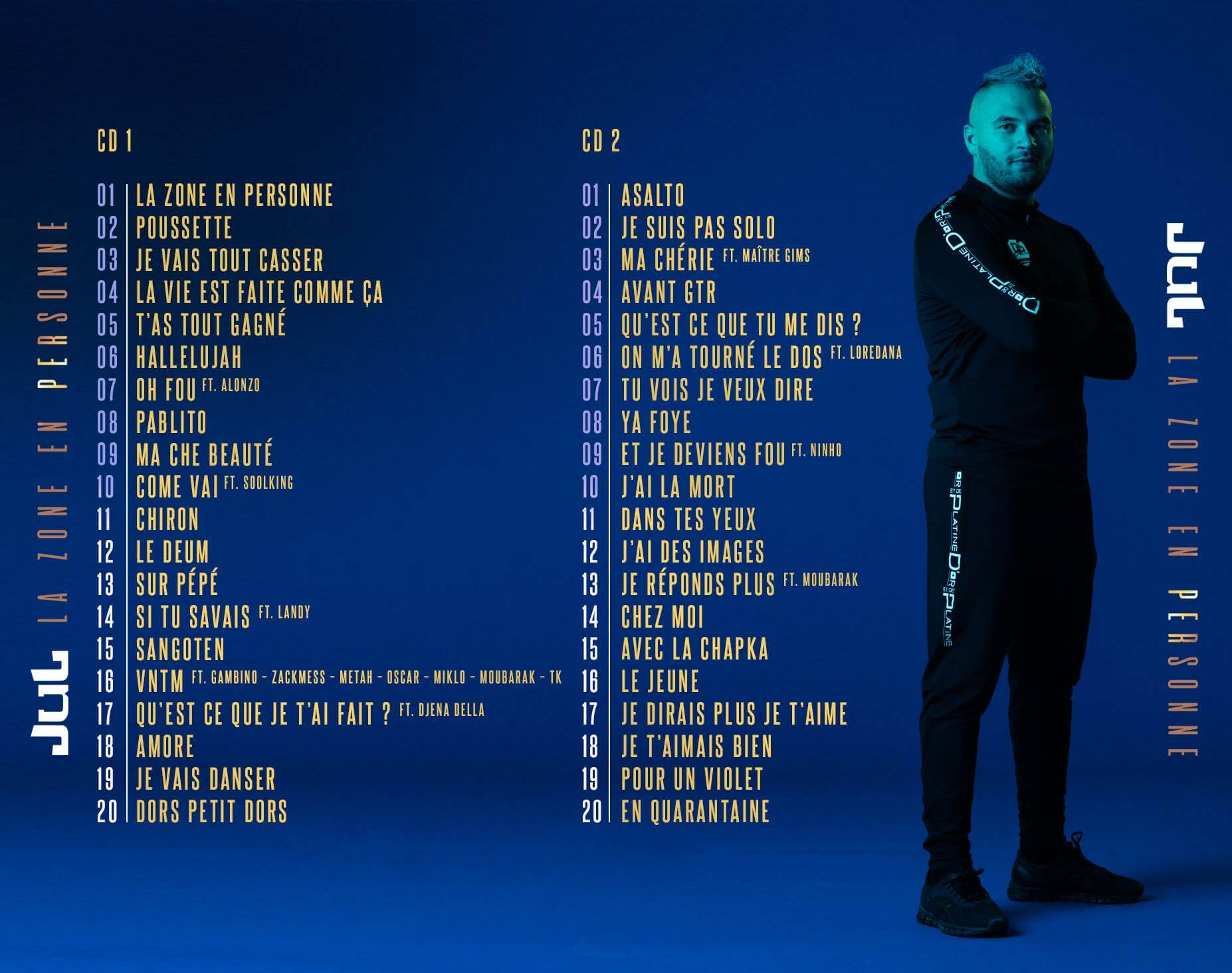 jul tracklist double album