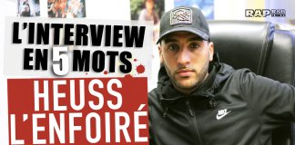 heuss l'enfoire interview 5 mots