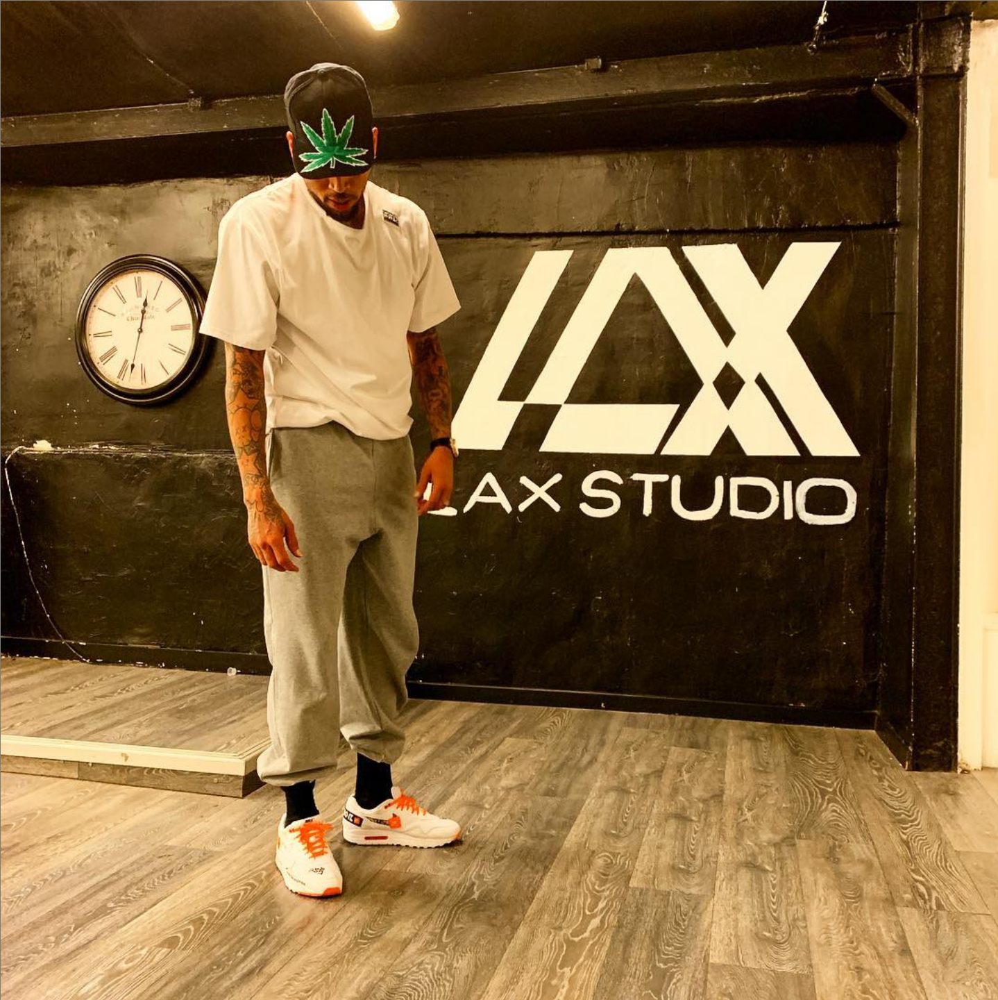 chris brown paris lax studio