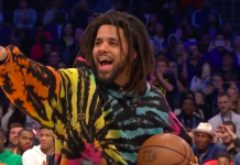 J; cole au NBA All-Star Week-end