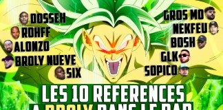 broly dragon ball dossier raprnb