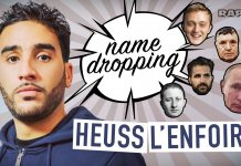 heuss lenfoiré name dropping