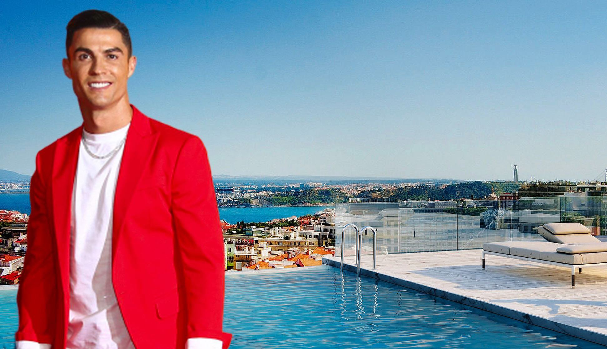 Cristiano Ronaldo s'offre l'appartement le plus cher du Portugal ! [Photos]