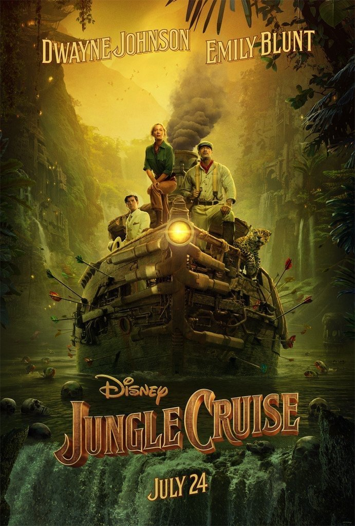 jungle-cruise-poster - affiche