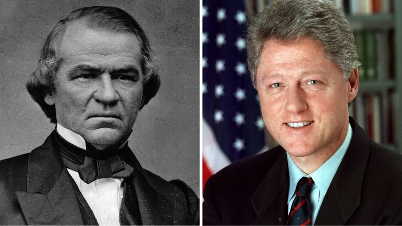 Andrew Johnson / Bill Clinton