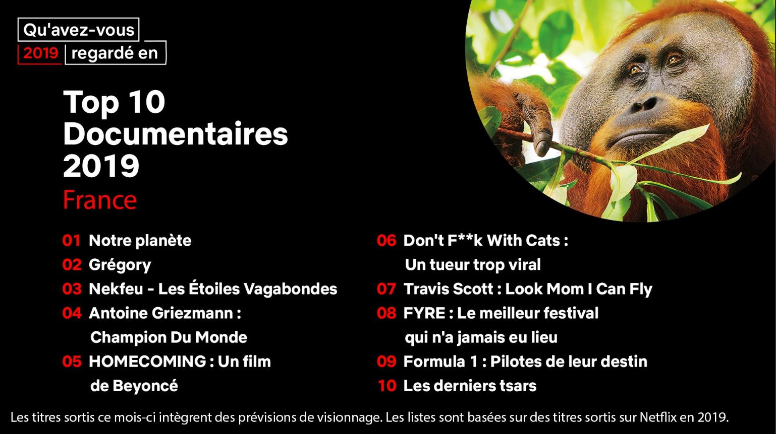 Top 10 documentaires