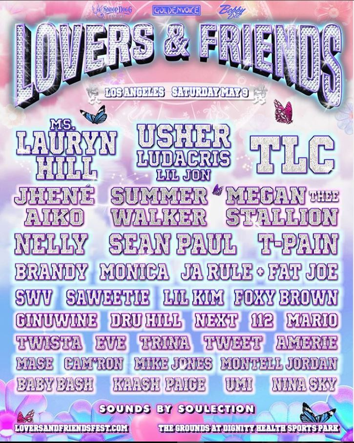 Line-up Lovers & Friends