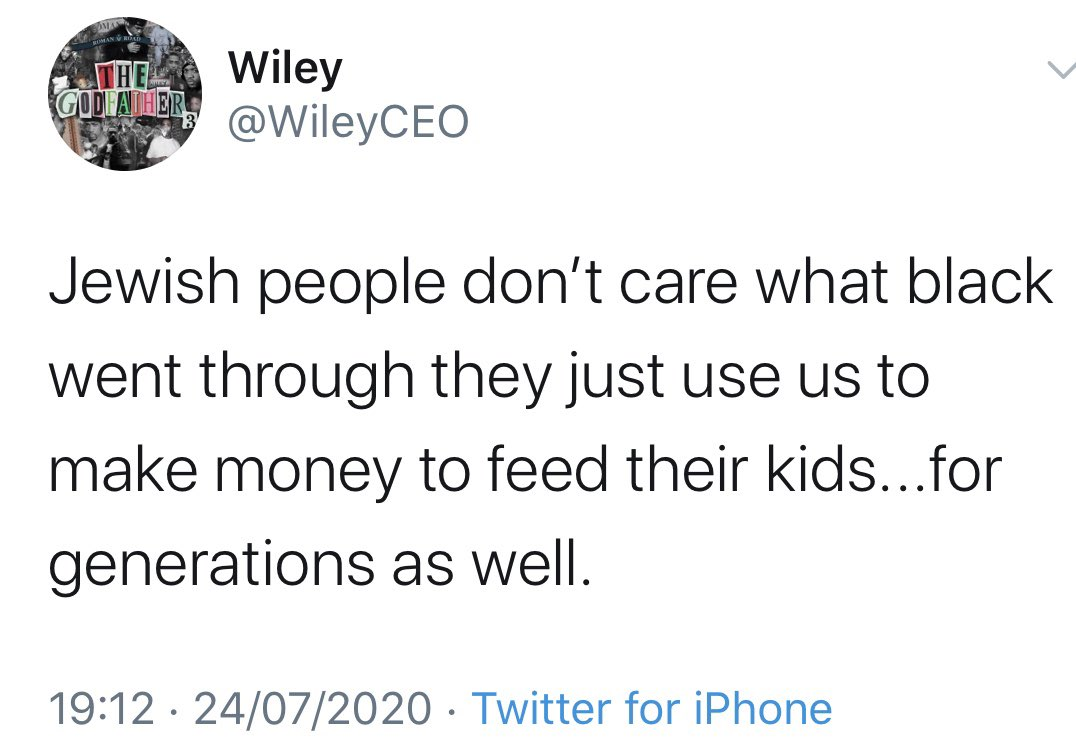 Wiley tweets
