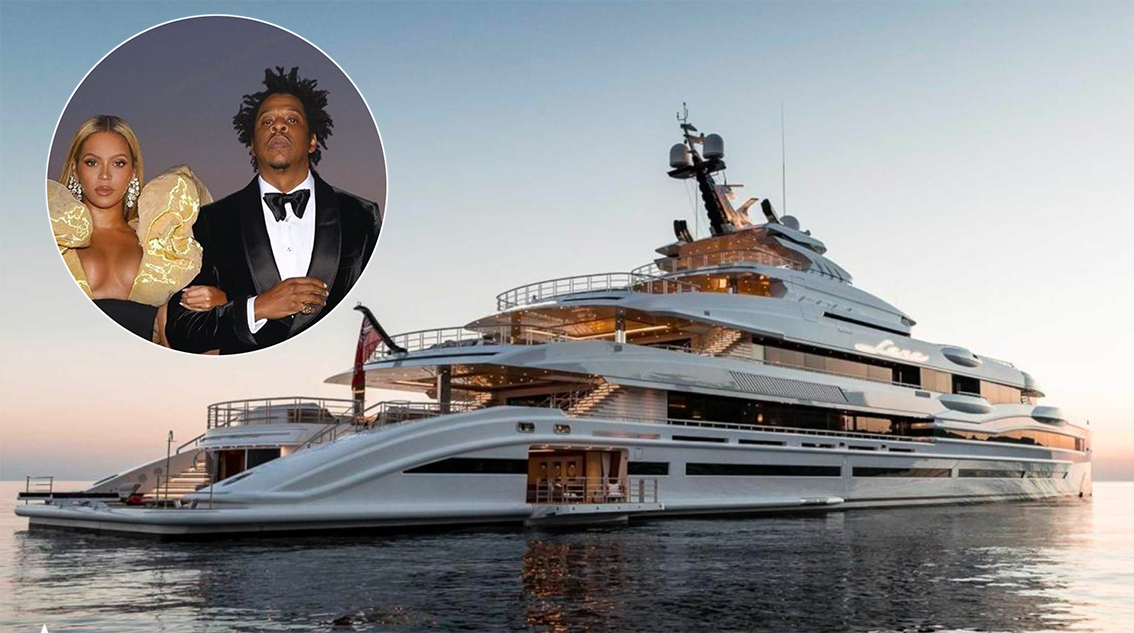 Jay-Z and Beyoncé on vacation on a $ 2 million yacht