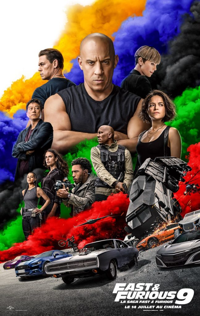 affiche fast and furious 9